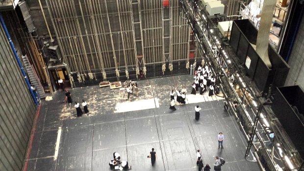 Opera Wiedeńska za kurtyną
