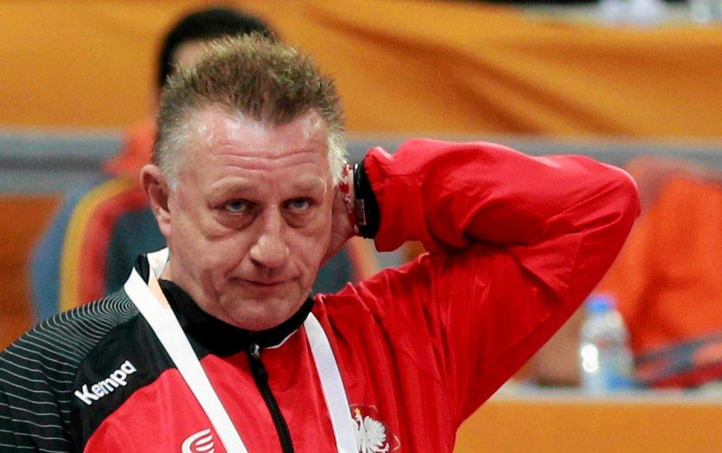 Trener reprezentacji Polski Michael Biegler