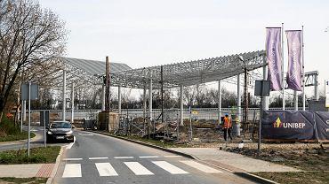 Budowa centrum przesiadkowego przy ul. Sądowej w Katowicach