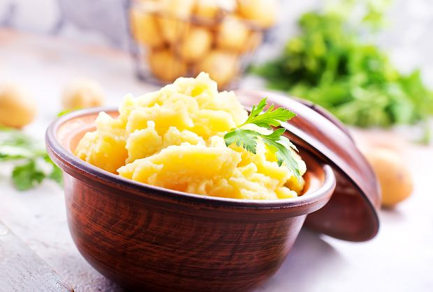 Pureé z ziemniaków i pasternaku