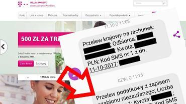 T-Mobile Usługi Bankowe wysyłał niektóre przelewy na błędny numer konta. Pieniądze trafią tam gdzie powinny bez potrzeby interwencji ze strony konsumentów.