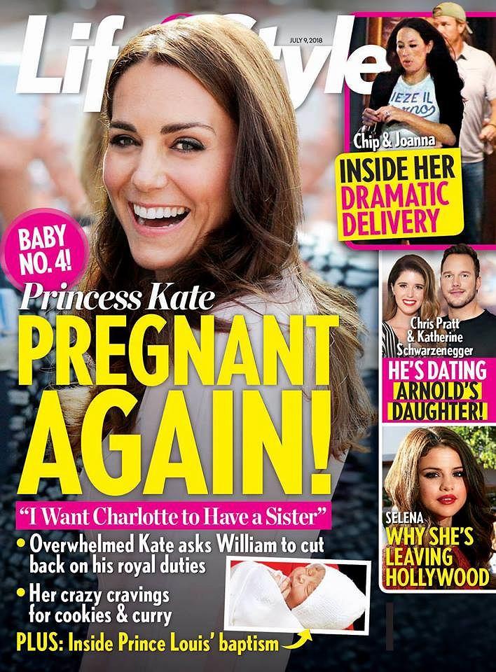 Kate Middelton jest w 4. ciąży