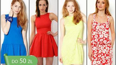 Hit cenowy: sukienki do 50 zł