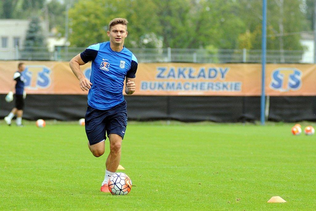 Lech Poznań trenuje przed meczem z FK Sarajevo w eliminacjach do Ligi Mistrzów. Karol Linetty