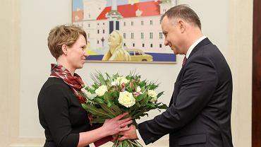 Andrzej Duda mianuje na członka zarządu NBP Martę Kightley