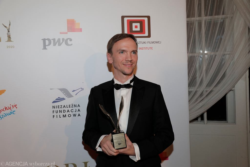 Gala nagród Orły 2020 w Warszawie - Jan Komasa