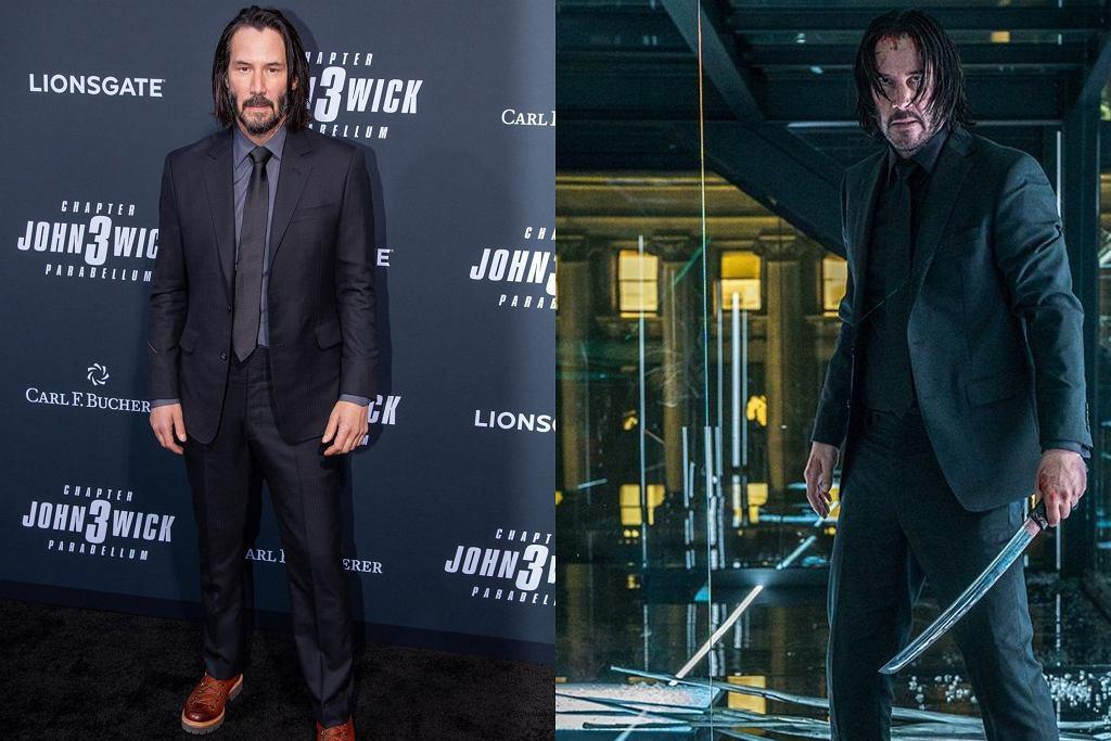 Keanu Reeves w roli Johny'ego Wicka