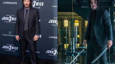 Keanu Reeves w roli Johny'ego Wicka