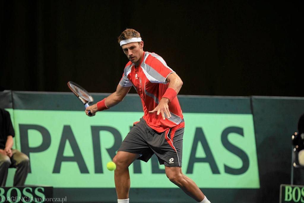 Polska - Białoruś w Pucharze Davisa. Łukasz Kubot