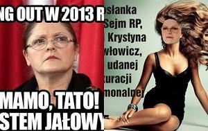 Krystyna Pawłowicz, memy, śmieszne zdjęcia