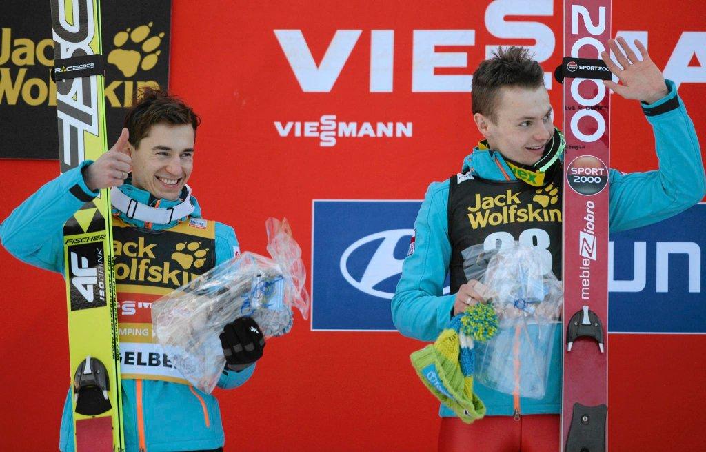 Kamil Stoch i Jan Ziobro