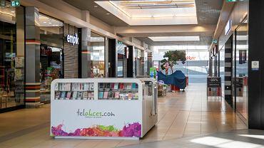 Koronawirus. Puste centra handlowe w Białymstoku po wprowadzeniu stanu zagrożenia epidemicznego