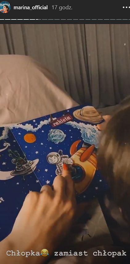 Marina spędza czas z Liamem