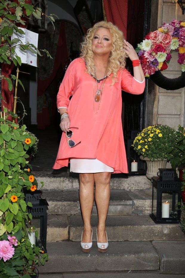 Magda Gessler promocja nowej książki, U Fukiera, 03.08.2015, fot. WBF, na zdj. Lara Gessler