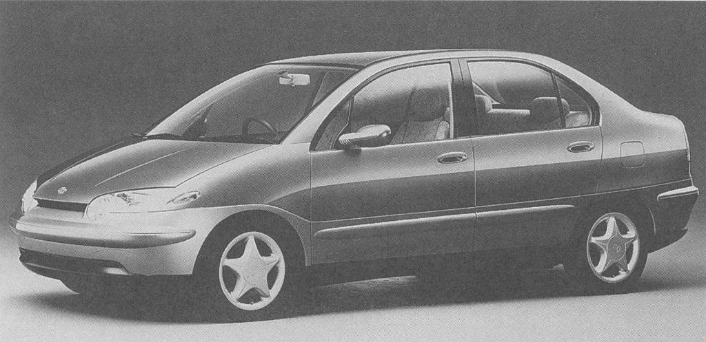 Prototyp Toyoty Prius z 1996 roku