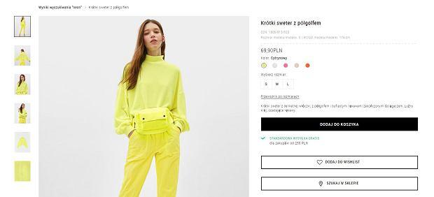 Bluza marki Bershka