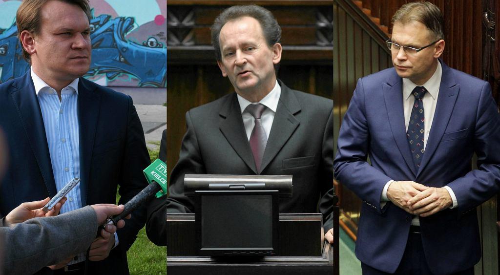 Dominik Tarczyński, Włodzimierz Bernacki, Arkadiusz Mularczyk