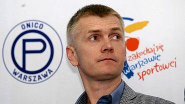 Paweł Zagumny, dyrektor sportowy Onico  Warszawa