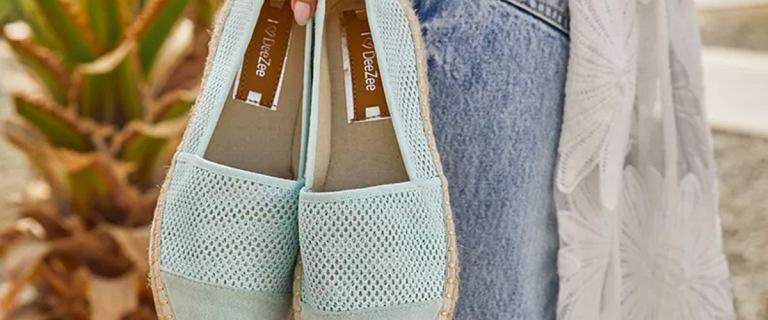 Te pastelowe espadryle Deezee są piękne. Zakochałyśmy się w nich. Teraz wiosenne buty tej marki kupimy z dużym rabatem!