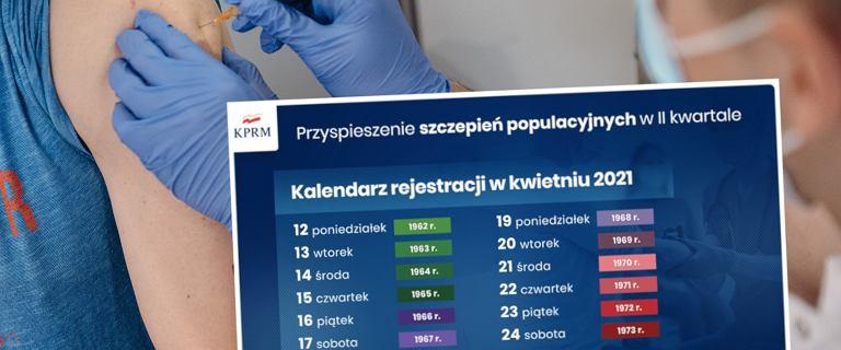 Jakie roczniki mogą zapisać się na szczepienia w kwietniu? [Harmonogram]
