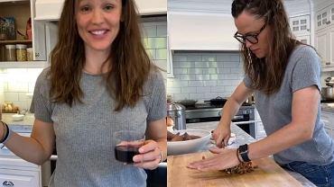 Jennifer Garner piecze ciasteczka