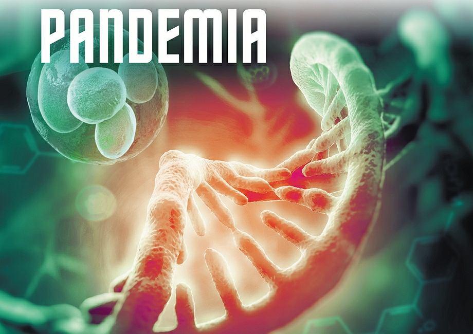 Pandemia - fragment okładki