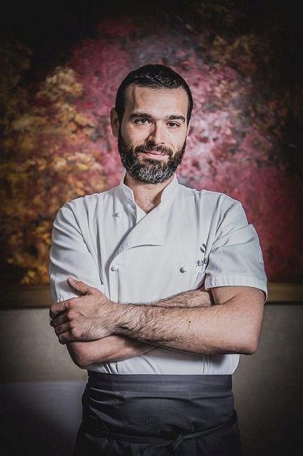 Szef kuchni restauracji Senses Andrea Camastra