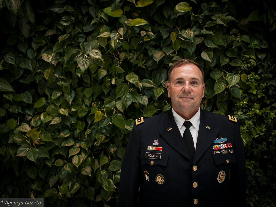 Generał Ben Hodges, głównodowodzący amerykańskich sił w Europie