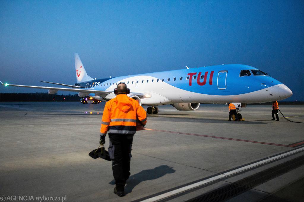 Samolot koncernu turystycznego TUI