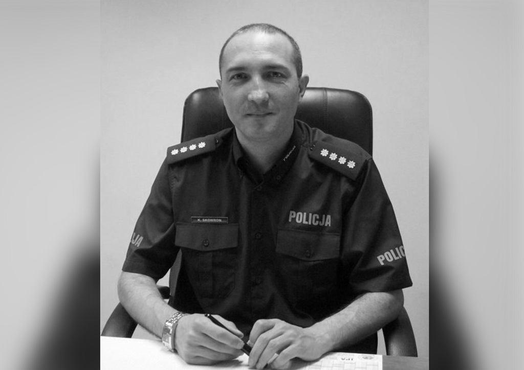 Krzysztof Skowron, komendant policji w Mikołowie zginął w wypadku
