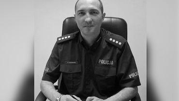 Nie żyje komendant policji w Mikołowie Krzysztof Skowron