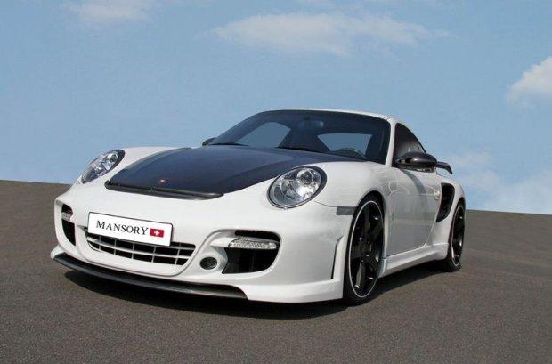 Porsche 911 Turbo Mansory