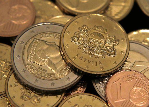 Łotewskie monety euro