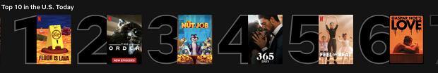 Netflix - Love i 365 dni w TOP 10