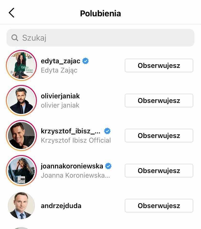 Instagram Edyty Pazury