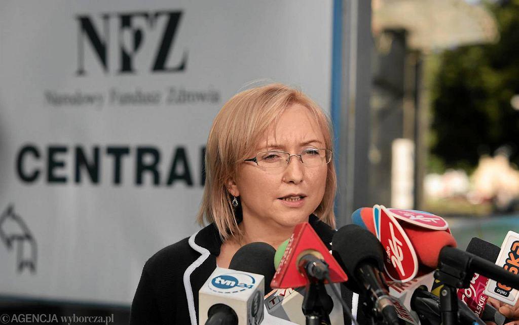 Agnieszka Pachciarz, była prezes NFZ