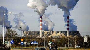 Elektrownia PGE w Bełchatowie.
