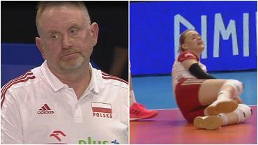 Polskie siatkarki przegrały z Serbią 1:3 w Lidze Narodów
