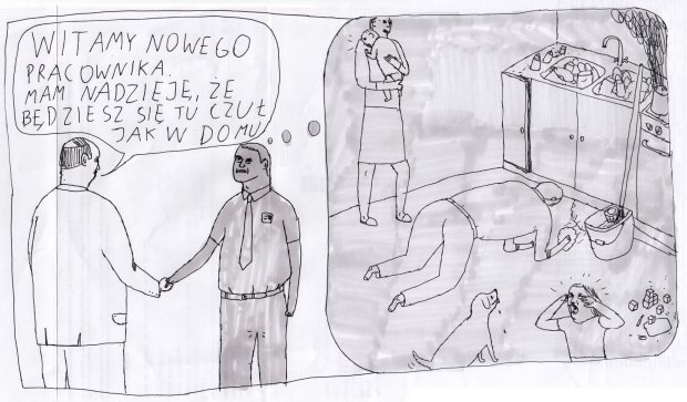 Jan Koza w Gazeta.pl. Zaczynamy współpracę, dziś pierwszy rysunek! -  - Janek Koza