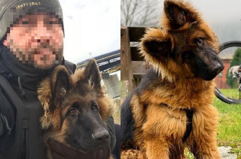 Kamil D. i jego pies