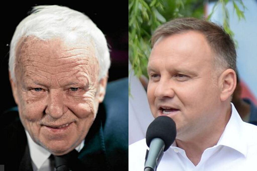 Marian Opania i Andrzej Duda