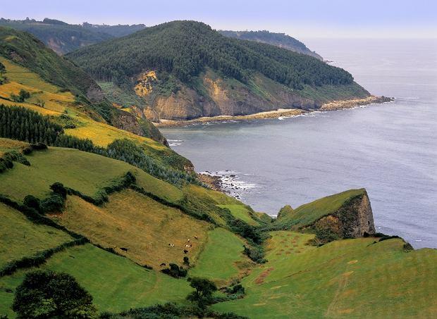 Hiszpania wakacje. Wybrzeże w Asturii/fot. shutterstock