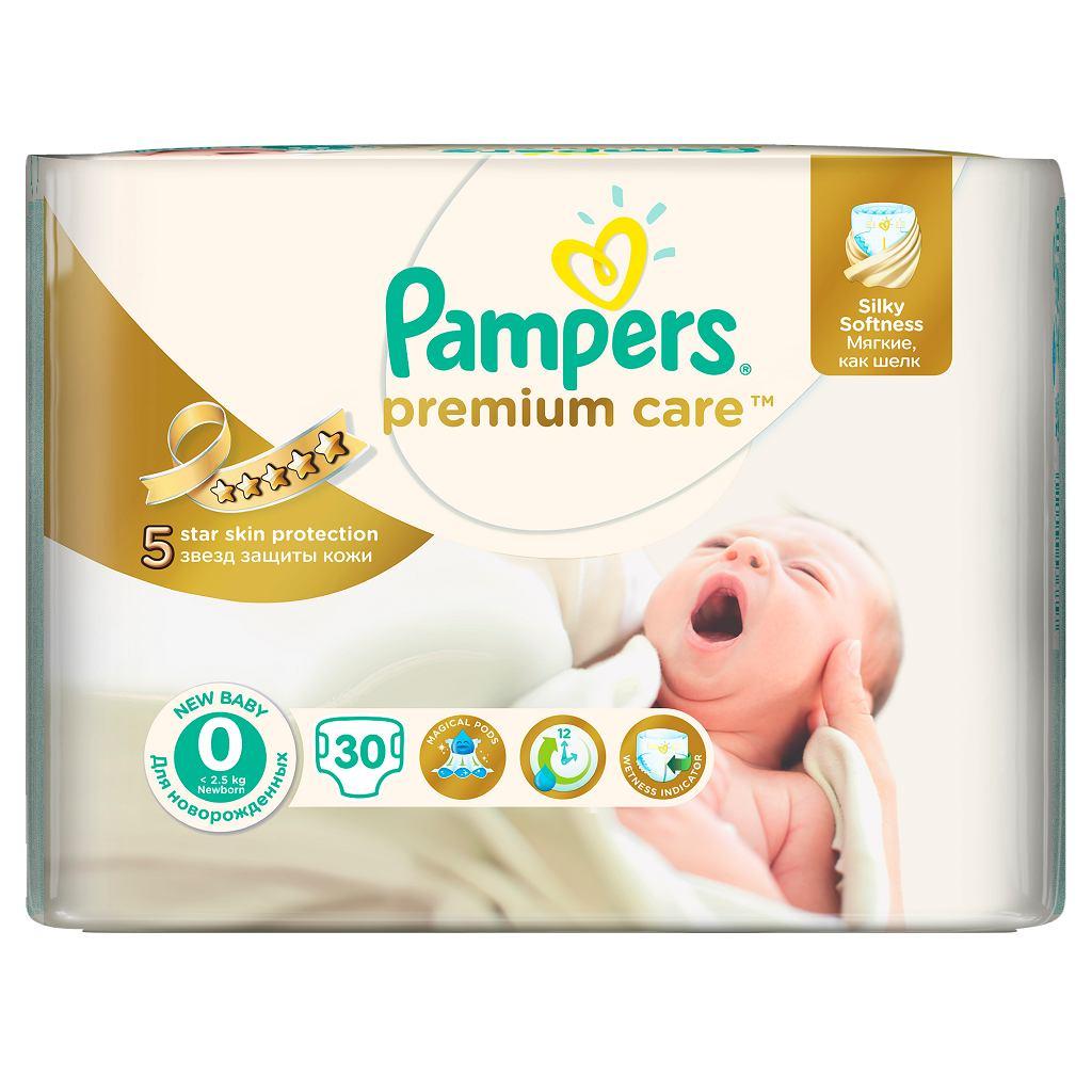 Nowe pieluszki Pampers Premium Care 0