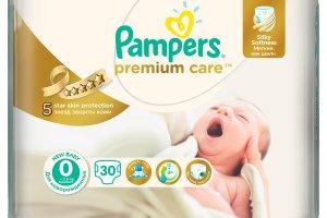 Nowe pieluszki Pampers Premium Care