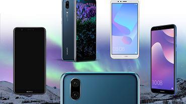 Huawei P20, P smart, Y6, Y6 Prime i Y7 Prime  - topowe modele Huawei