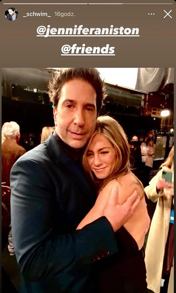 David Schwimmer i Jennifer Aniston są parą?
