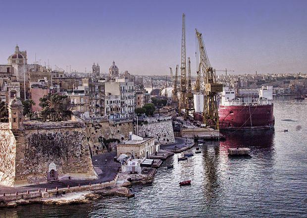 Malta, miasto Senglea / Flickr.com / trishhartmann