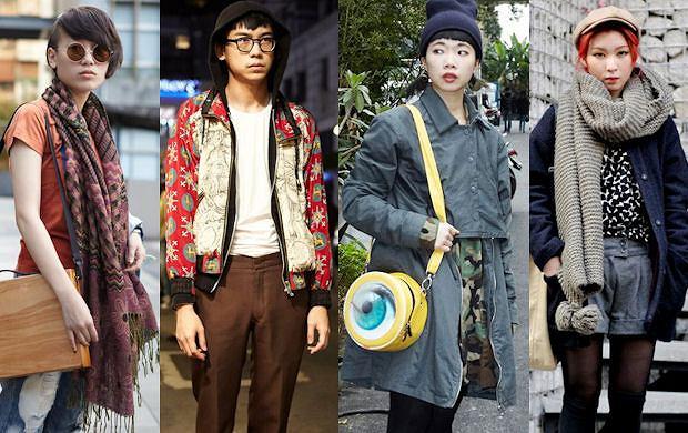 Street Fashion: orientalna moda z Seulu i Hongkongu