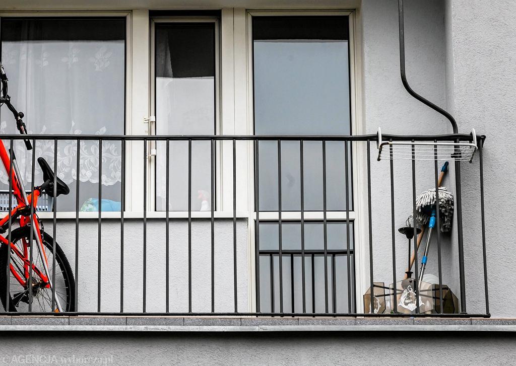 Balkon. Zdjęcie ilustracyjne
