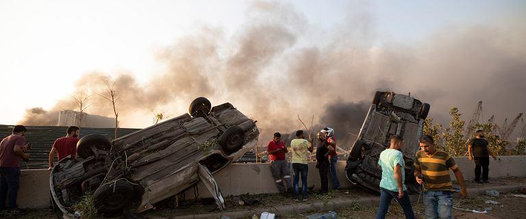 Wybuch w Bejrucie. Burmistrz: W życiu nie widziałem zniszczeń na taką skalę